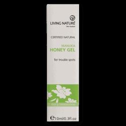 Box of Living Nature Organic Manuka Honey Gel, 10ml
