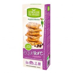Box of Le Moulin Croc's Raisin Biscuits (200gm)