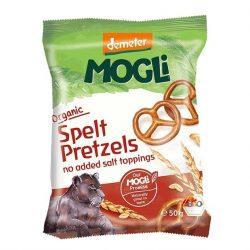 Packet of Mogli Organic Prezels (Demeter), 50g