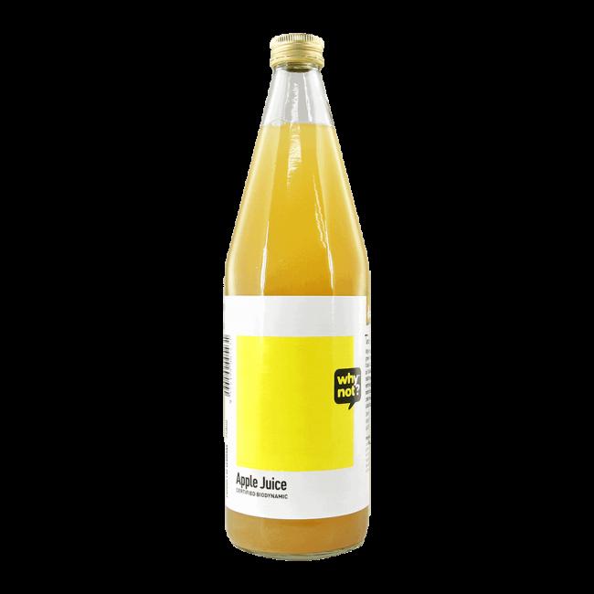 Why Not?® Organic Apple Juice (Demeter), 750ml