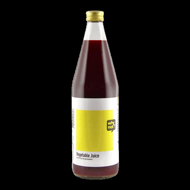 Why Not?® Organic Vegetable Juice (Demeter), 750ml