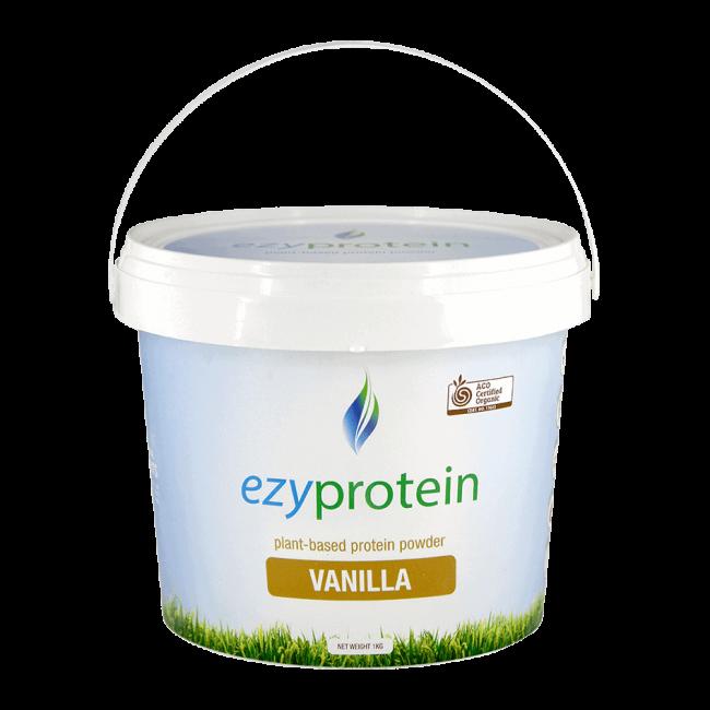 Ezyprotein Organic Vanilla Protein Powder, 1kg