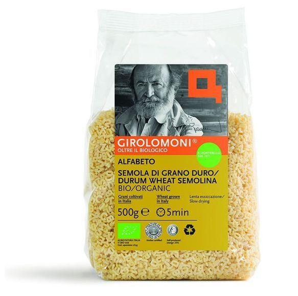 Girolomoni Organic Alfabeto Pasta, 500g