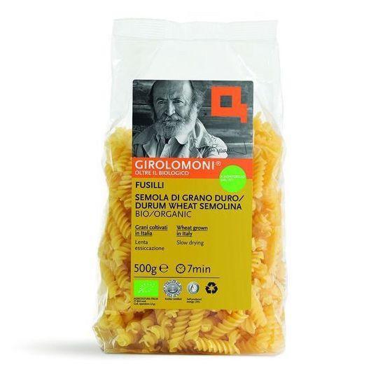 Girolomoni Organic Fusilli Pasta, 500g