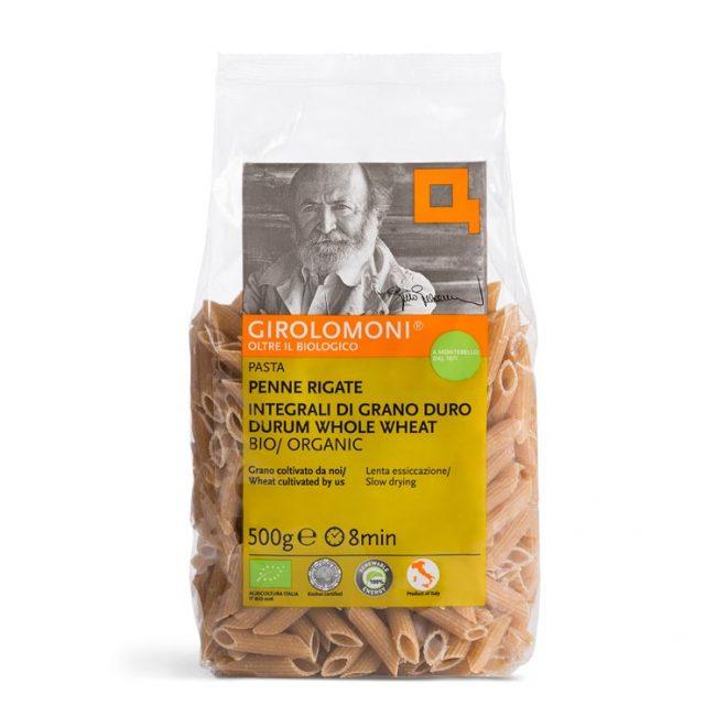 *BUY 2, GET 2nd @70% OFF* Girolomoni Organic Whole Wheat Penne Rigate Pasta, 500g