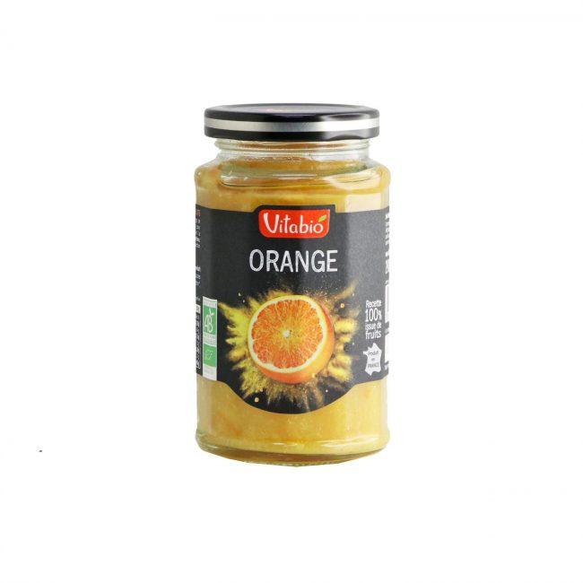 Vitabio Organic Fruit Spread Orange, 290g