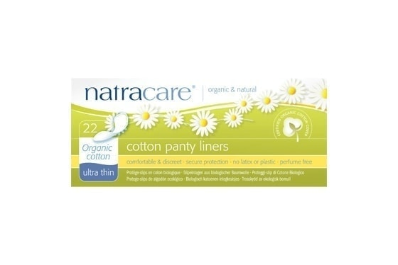 Natracare Organic Cotton Panty Liners, 22pc