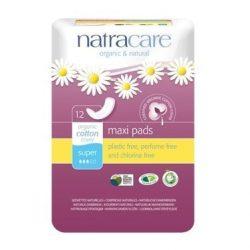 Natracare Natural Maxi Super Pads 12pc