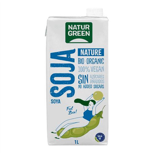 NaturGreen Organic Soja Nature, 1L