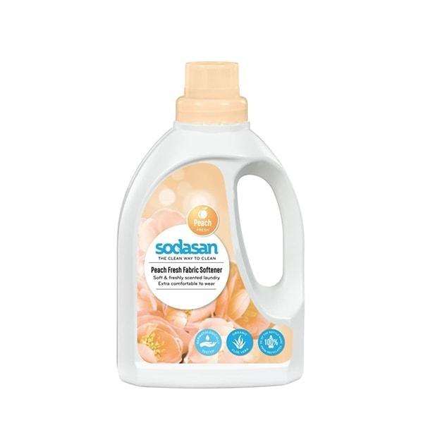 Sodasan Organic Peach Fresh Fabric Softener, 750ml