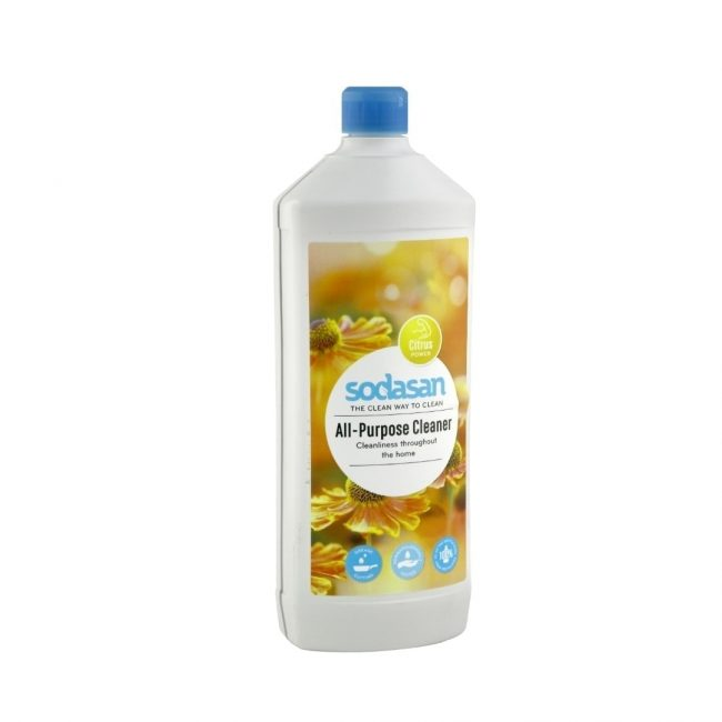 Sodasan Organic Ecological All Purpose Cleaner Sensitive, 1L