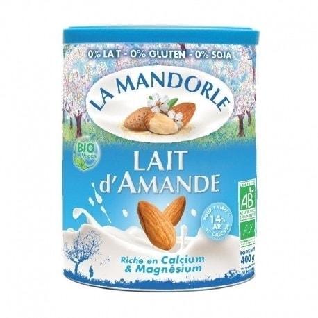 La Mandorle Organic Almond Milk Instant Powder, 400g
