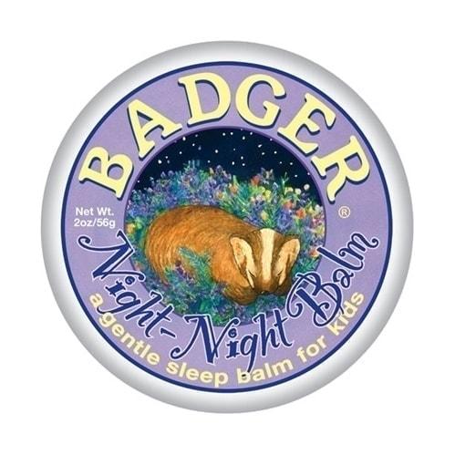 Badger Organic Balm Night Night, 0.75oz