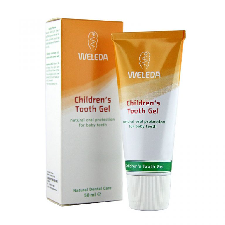 Weleda Organic Toothgel Children, 50ml