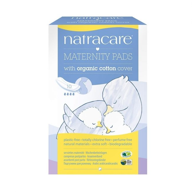 Natracare Maternity Pads, 10pc