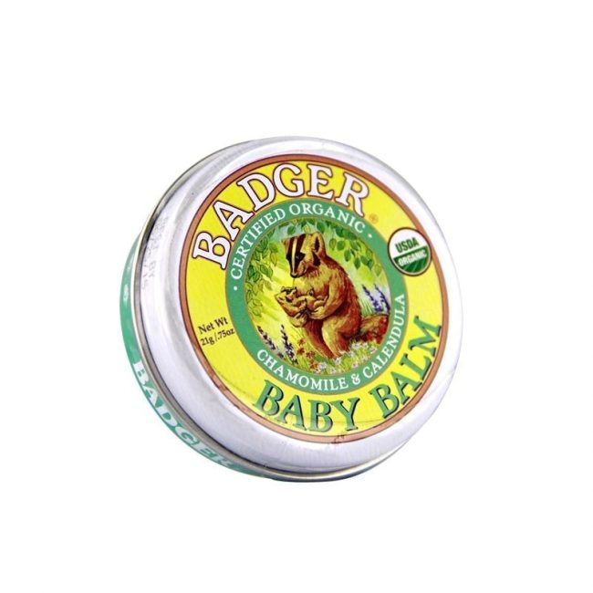 Badger Organic Baby Balm, 0.75oz