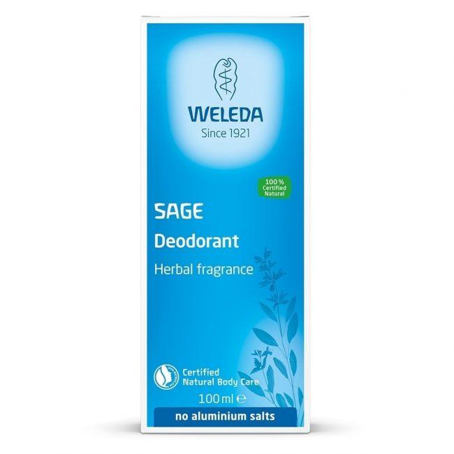 Weleda Organic Salvia Deodorant, 100ml