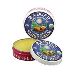 Container of Badger Organic Balm Sleep, 0.75oz