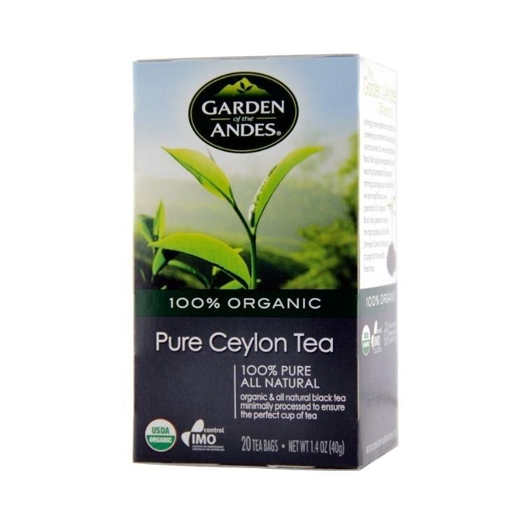 Garden of The Andes Organic Ceylon, 20 tea bags