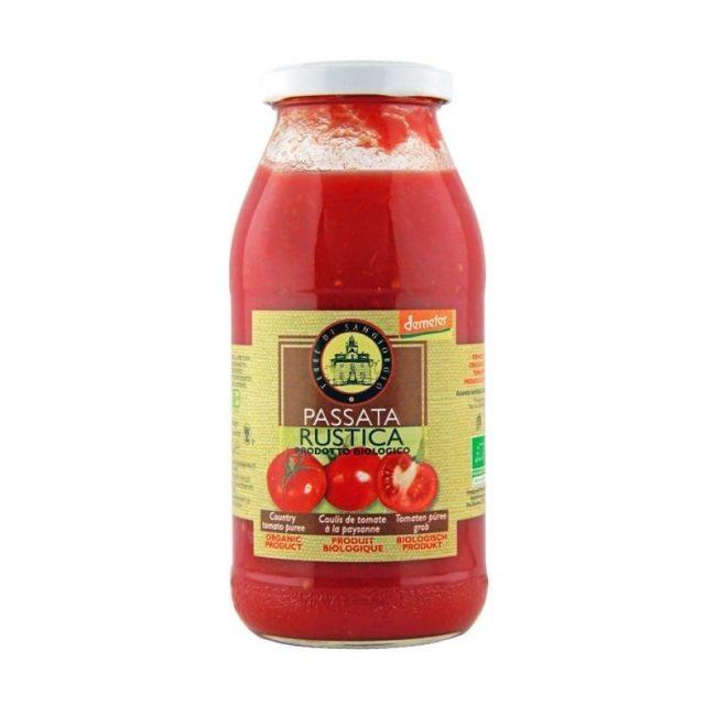 Terre Di Sangiorgio Organic Country Tomato Puree (Demeter), 510g