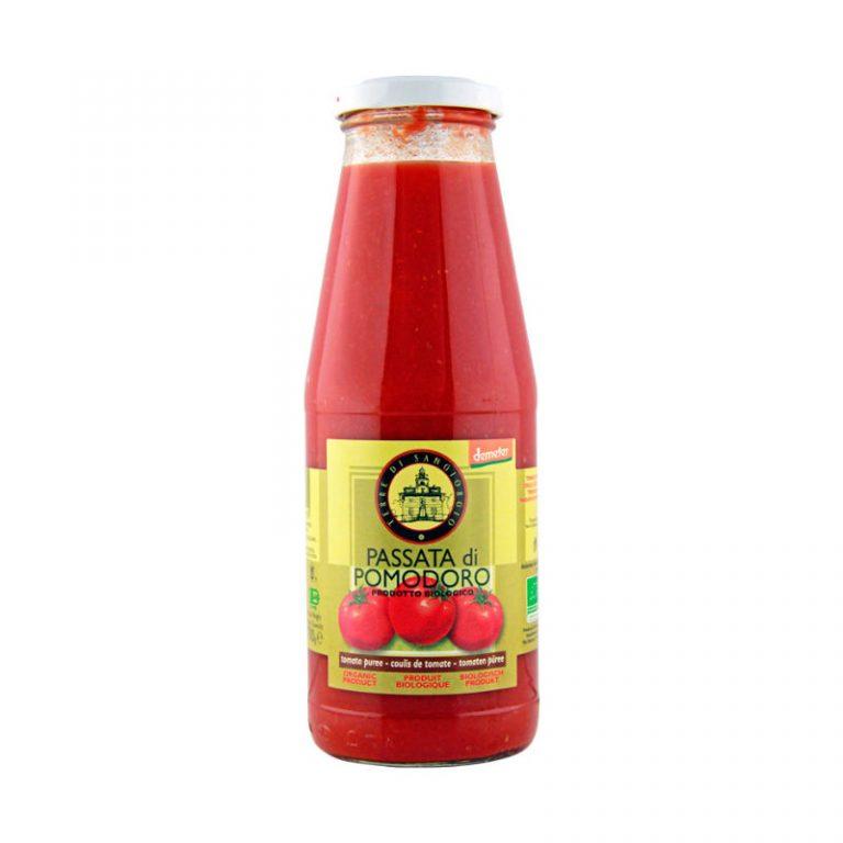 Terre Di Sangiorgio Organic Tomato Puree (Demeter), 700g