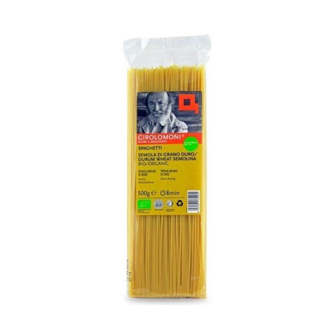 Girolomoni Organic Spaghetti Pasta, 500g