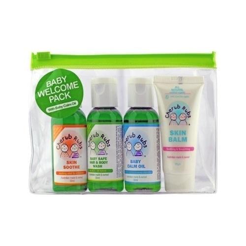 Cherub Rubs Green Bag - Welcome pack