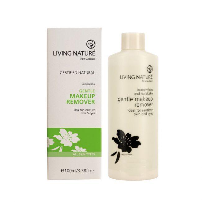 Living Nature Gentle Makeup Remover, 100ml