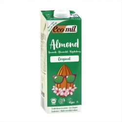 Carton of Ecomil Organic Almond Milk Agave, 1L