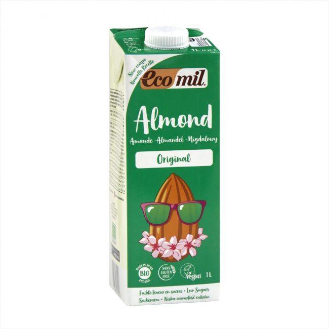 Ecomil Organic Almond Milk Agave, 1L