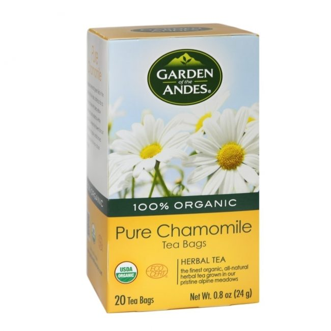 Garden of The Andes Organic Chamomile Tea, 20 tea bags