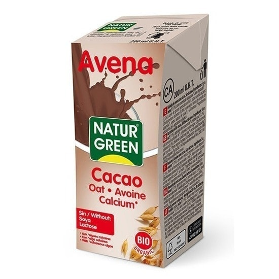 NaturGreen Organic Oat Milk Chocolate, 200ml