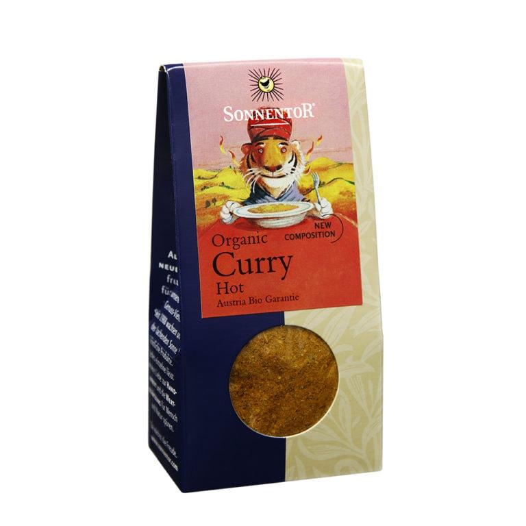 Sonnentor Organic Curry Hot, 35g