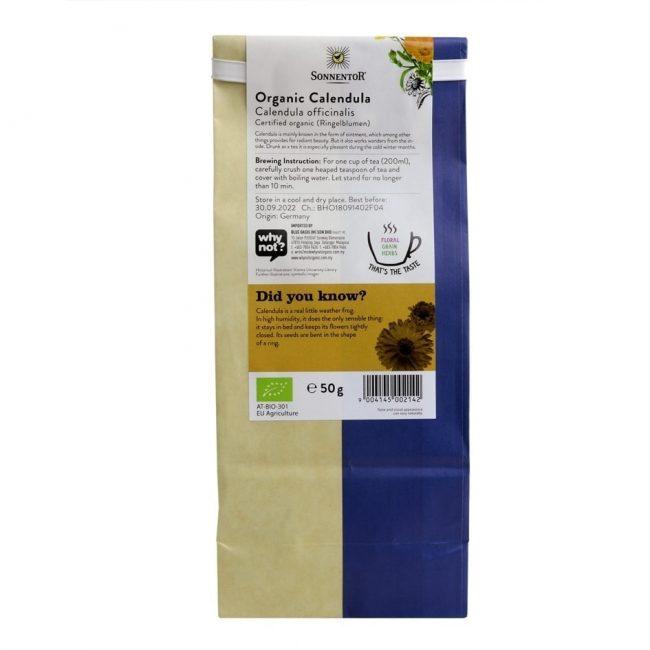Sonnentor Organic Calendula Tea, 50g