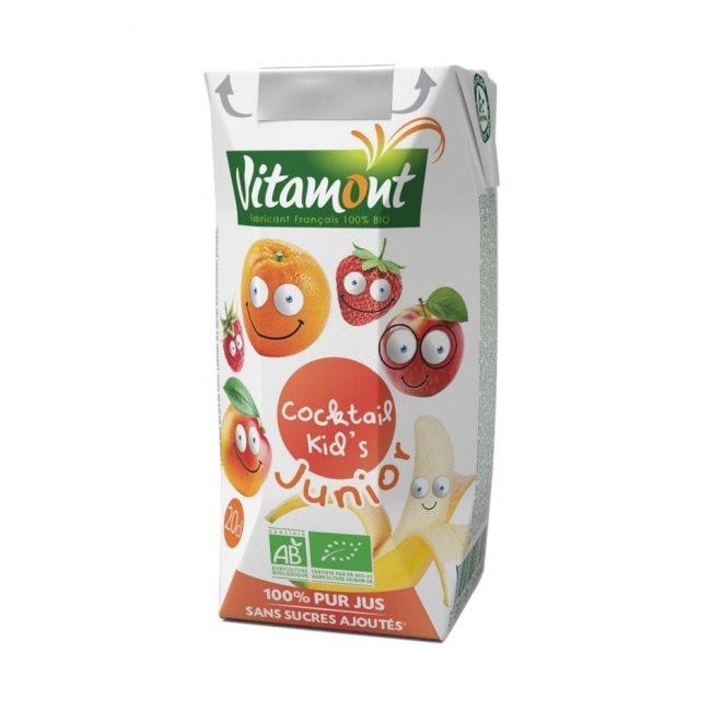 Vitamont Organic Kid's Cocktail, 200ml