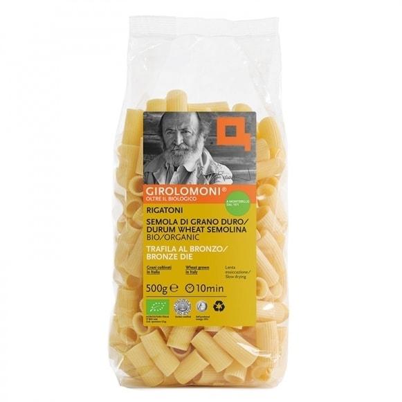 Girolomoni Organic Rigatoni Pasta, 500g