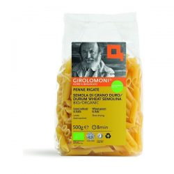 Packet of Girolomoni penne rigate pasta