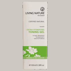 Box of Living Nature Organic Extra Hydrating Toning Gel, 100ml
