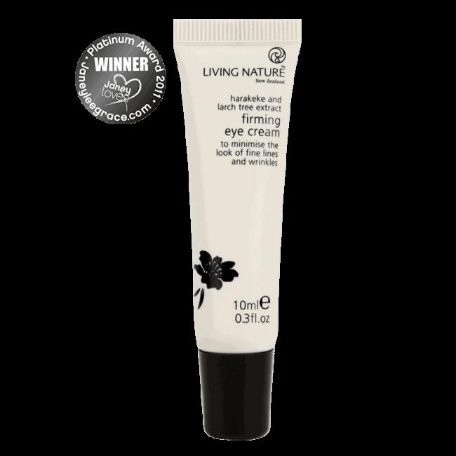Living Nature Organic Firming Eye Cream, 10ml