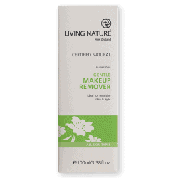 Box of Living Nature Organic Gentle Makeup Remover, 100ml