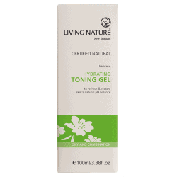 Box of Living Nature Organic Hydrating Toning Gel, 100ml
