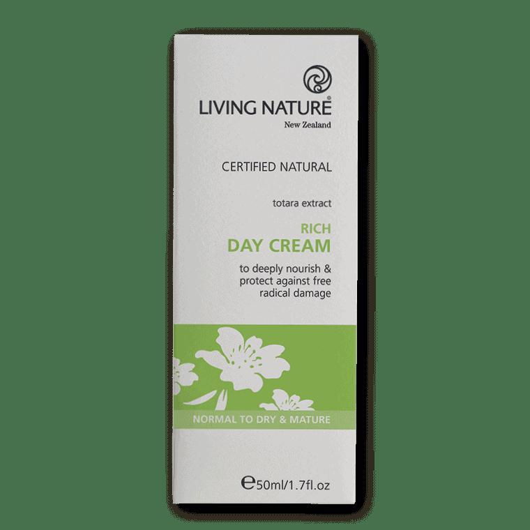 Living Nature Rich Day Cream, 50ml