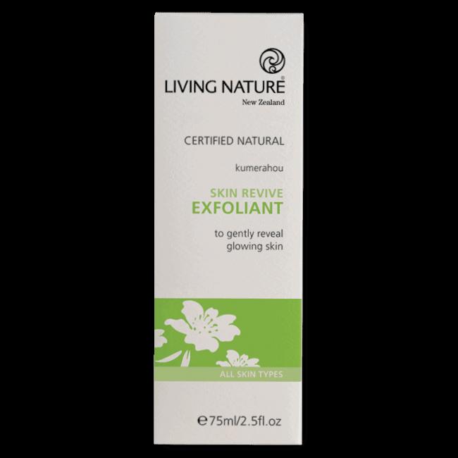 Living Nature Skin Revive Exfoliant, 75ml