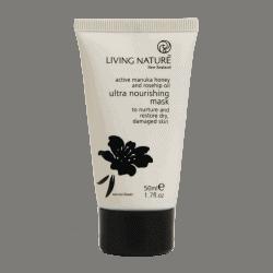 Tube of Living Nature Organic Ultra Nourishing Mask, 50ml
