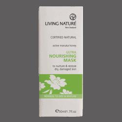 Box of Living Nature Organic Ultra Nourishing Mask, 50ml