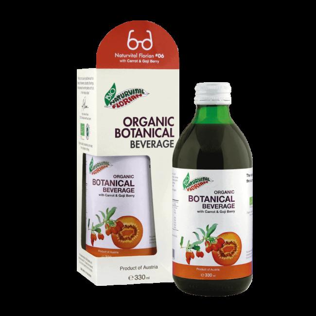 Naturvital Florian #06: Organic Carrot & Goji Berry, 330ml
