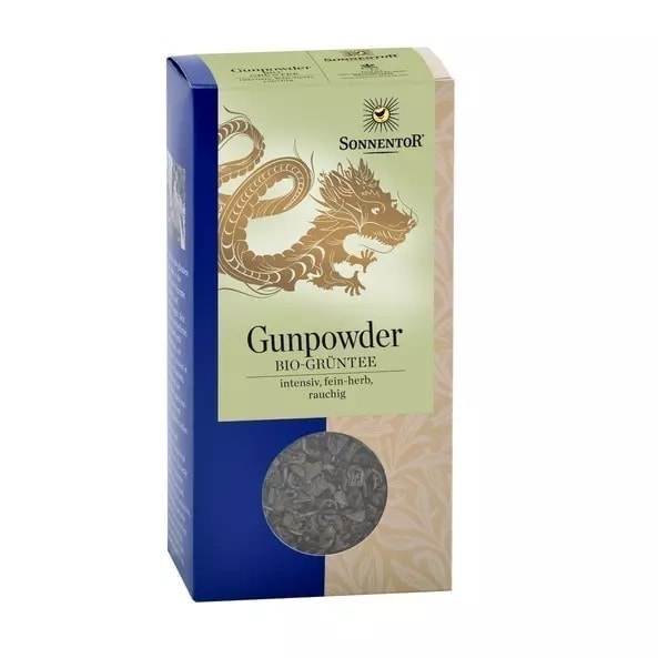 Sonnentor Organic Chinese Green Tea Gunpowder, 100g