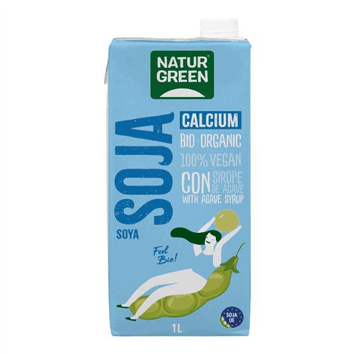 NaturGreen Organic Soja Calcium, 1L