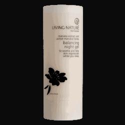 Bottle of Living Nature Balancing Night Gel (50ml)