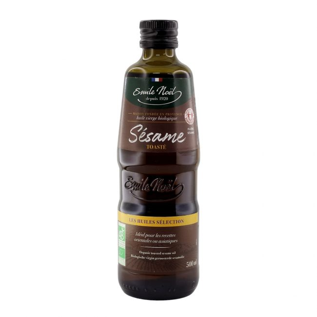 Emile Noel Organic Toasted Sesame Oil, 500ml